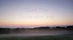 Quiet Day 2nd November