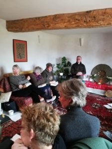 faith group meeting quiet day at Viveka Gardens