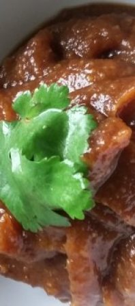 date and ginger chutney