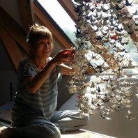 sembazuru – one thousand cranes