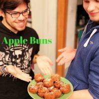 Spiced apple cakes
