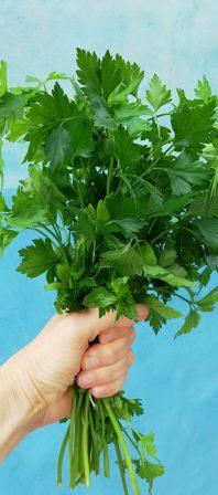 parsley-tastic buckwheat tabouleh