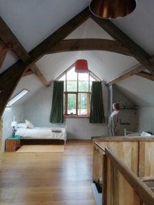 Santosha Loft accommodation at Viveka Gardens