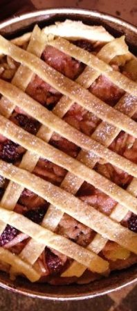 Draeyk's apple, blackberry and cinnamon Spelt lattice